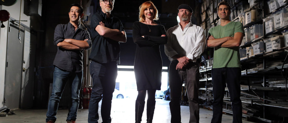 Mythbusters cast. Image Credit: Don Feria/AP Images for Discovery Communications